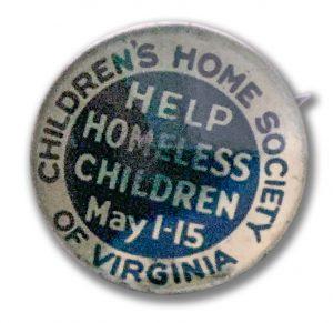 Virginia adoption campaign button