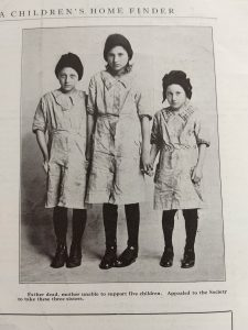 adoption in the 1940s | three sisters placed for adoption