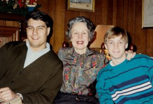 adoption in the 1990s | mom and dad with adopted older son