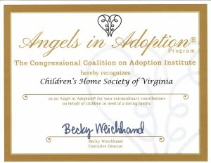 Angels in Adoption Award | adoption in the 2010s