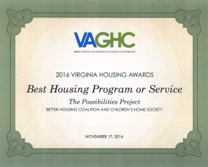 Best Housing Program or Service | adoption in the 2010s